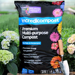 Incredicompost 70 Litres and Incredibloom 100g