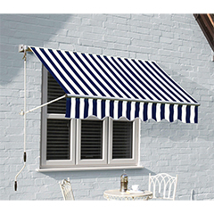 Ascot Window Awning - 1.5m Width