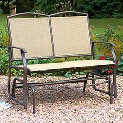 2 Seater Glider Bench - 104cm Width