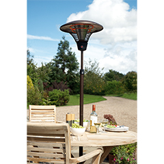 Deluxe Patio Heater - 209cm Height