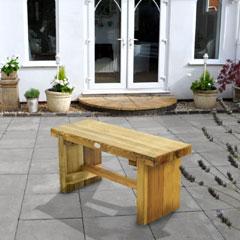 Forest Garden FSC Double Sleeper Bench 1.2m