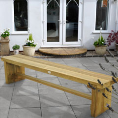 Forest Garden FSC Double Sleeper Bench 1.8m