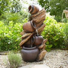 Brundle Jug Cascade LED Water Feature