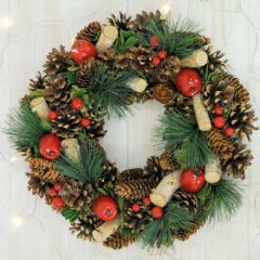 Luxury Artificial Wreath - Holly and Ivy