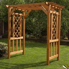 Garden Pergolas Pergola Garden Arch Garden Bench