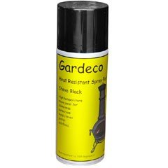 gardeco heat resistant spray paint for metal bbqs 400ml on. Black Bedroom Furniture Sets. Home Design Ideas