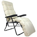 Tubular Lounger & Relaxer Cushions -  Luxury & Standard