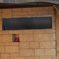 La Hacienda Slimline Radiant Heat Panel