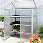 Nison Compact-Pro Mini Greenhouse - Silver