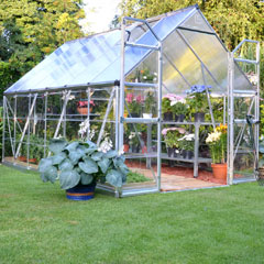 Palram Balanced Merged Polycarbonate Glazing Greenhouse 12 x 8ft