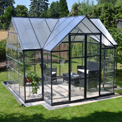 Palram Victory Orangery Greenhouse 12 x 10ft