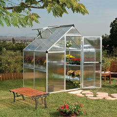 Palram Mythos Twin Wall Glazing Greenhouse