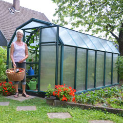 Free-Standing Greenhouses