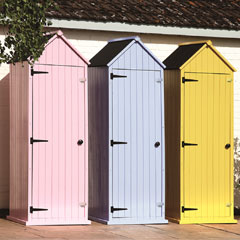 Brundle Brighton Garden Small Apex Shed - 2 x 7ft