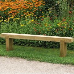 Forest Garden FSC Sleeper Bench 1.8m