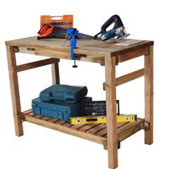 Forest Garden FSC Shed Work Bench