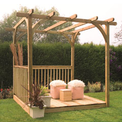 Forest Garden FSC Ultima Pergola Deck Kit 2.4 x 2.4m