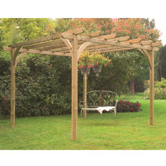 Forest Garden FSC Ultima Pergola Kit 3.6 x 3.6m