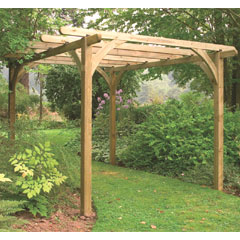 Forest Garden FSC Ultima Pergola Kit 2.7 x 2.7m