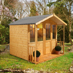 Forest Garden FSC Maplehurst Summerhouse 7x7