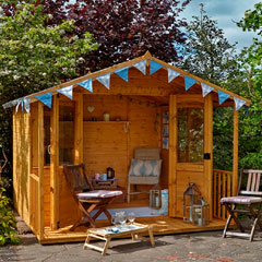 Forest Garden FSC Hollington Summerhouse 8x8