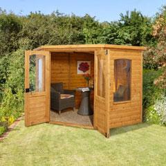 Forest Garden FSC Cranbourne Corner Summerhouse 7x7