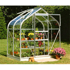 Halls Supreme Aluminium Frame Greenhouse Horticultural Glass