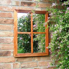 Parallax Victorian Garden Mirror