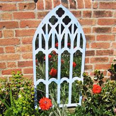 Parallax Gothic Trellis Garden Mirror