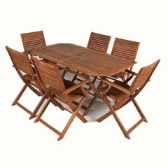 Ellister queensferry 6 person rectangular set 150cm on sale for Furniture queensferry