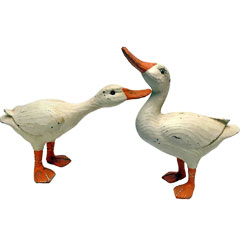 Design Toscano Rustic Duck Set