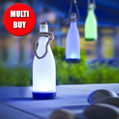 Cole and Bright Solar Hanging Bottle 4 x Multi Buy