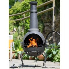 La Hacienda Murcia Steel Extra Large Chiminea
