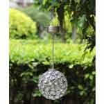 Aria Solar Colour Hanging Crystal Ball Light