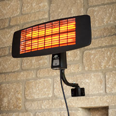La Hacienda Wall Mounted Electric Patio Heater - 2000W