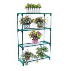 Nison 4 Tier Shelving Unit - 3 x 3.5ft