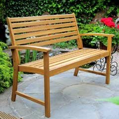 Rondeau Leisure Acacia 2 Seater Bench