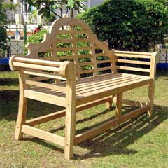 Rondeau Leisure Lutyen Teak 150cm Bench