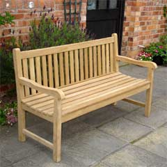 Rondeau Leisure Chunky Teak 180cm Bench