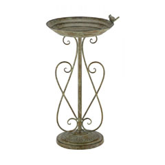 Chapelwood Antique Bird Bath - Antique Verdigris