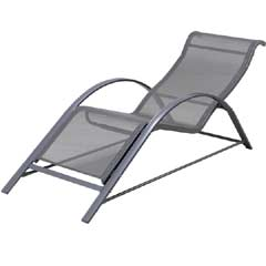 Ellister Poly-Weave Sun Lounger