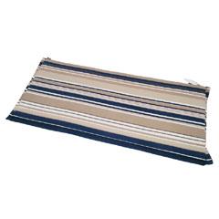 Ellister 3 Seater Bench Cushion - Blue Stripe 140cm