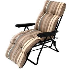 Ellister Tubular Padded Relaxer - Cappuccino Stripe