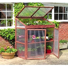 Gardman FSC Extra Large Wooden Growhouse
