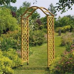 Gardman FSC Elegance Wooden Arch