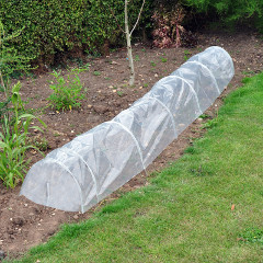Kingfisher Transparent PE Grow Tunnel 3m x 0.45m