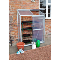 Kingfisher Lean To Aluminium Greenhouse