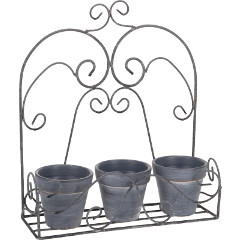 Greenfingers Metal Flower Pot Holder