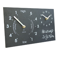 Eco Chalk Time and Tide Clock