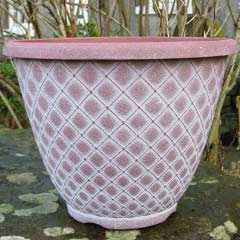 Bell Quilt Planter � 11in